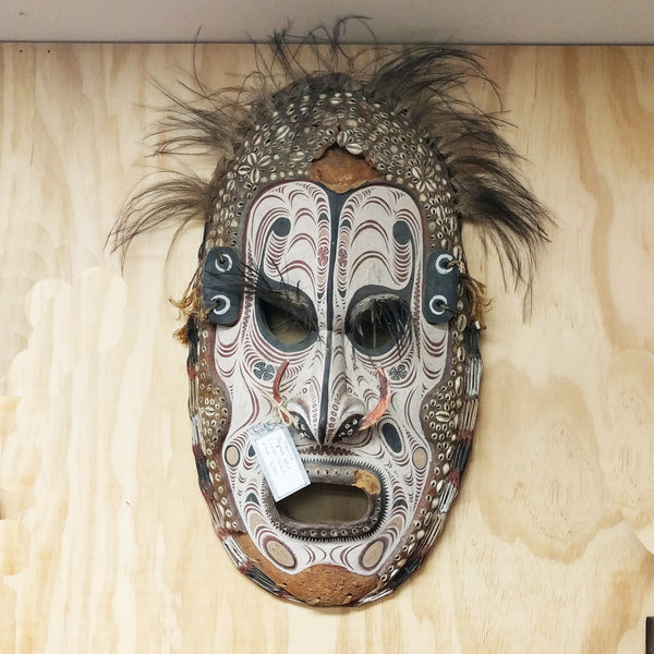 Vintage Tribal Papua New Guinea Mask The Design Ark Sydney Halchemy Design