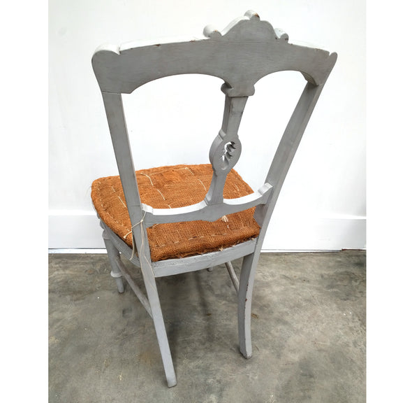 Naked Paris Grey Antique Chair