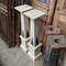 Pair of Art Deco Style Limestone and Mable Pedestals