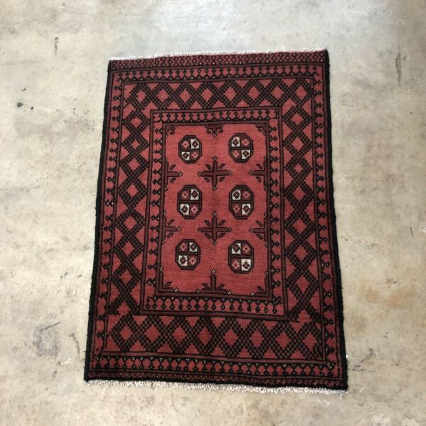 Red Ground Hand Made Persian Rug