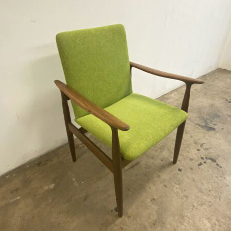 6 x Restored & Upholstered Parker Dining Chairs
