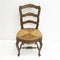 Set 8 Hand Carved Rush Seated French Provincial Style Dining Chairs
