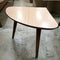 Set of 3, Retro Mid Century Corner Tri-legged Side Coffee Tables