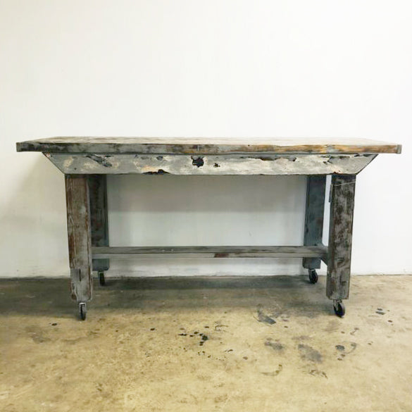 Recycled Solid Oregon Island Bench
