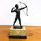 C1900 'The Archer' German Bronze Figure by Ludwig Graefner