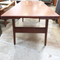 Retro Kai Kristiansen Trioh Danish Teak Extension Coffee Dining Table