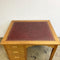 Vintage Leather Topped 4 Drawer Desk