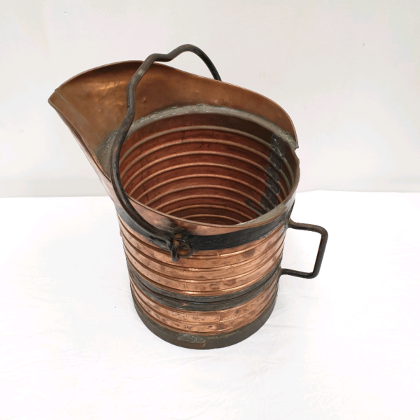 Vintage French Copper Bucket
