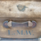 Vintage Large Travel Trunk