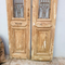 Architectural Wrought Iron Baltic Pine Entry Doors