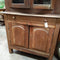 Vintage Depression Era Elevated Sideboard Rustic Kitchen Cabinet