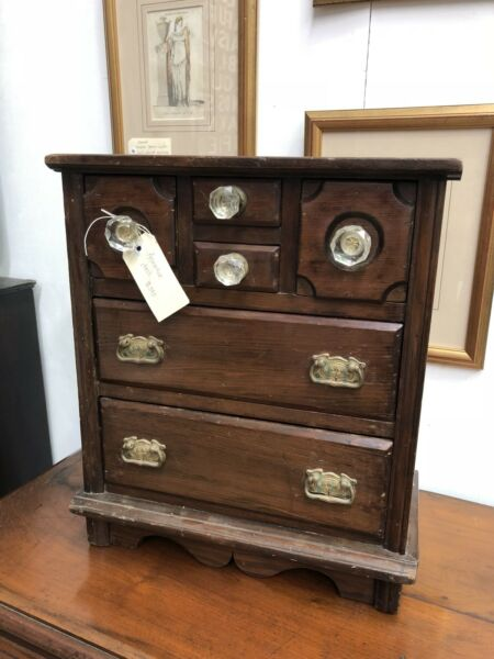 Antique Apprentice Chest of Drawers