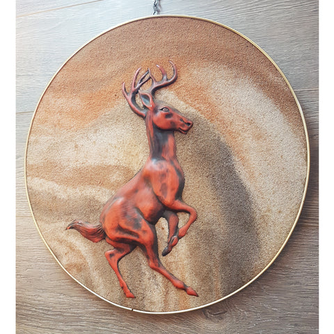 Vintage Stag Wall Plaque The Design Ark Sydney