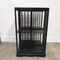 Ebonised Black Oak Revolving Bookcase Shelves