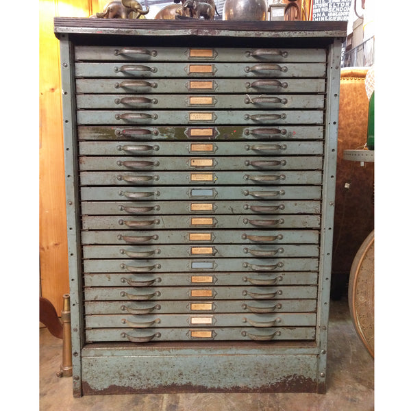 Industrial Steel Plan Drawers The Design Ark