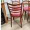 Set 4 Mid Century Ladder Back Dining Chairs