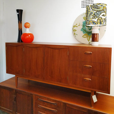 mid century teak chiswell sideboard