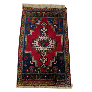 Vibrant Hand Knotted Woollen Prayer Rug The Design Ark Kingsford Sydney Halchemy Design Antiques