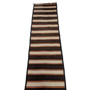 Vintage Hand Knotted Cotton Kilim Runner Rug The Design Ark Antiques Kingsford Sydney