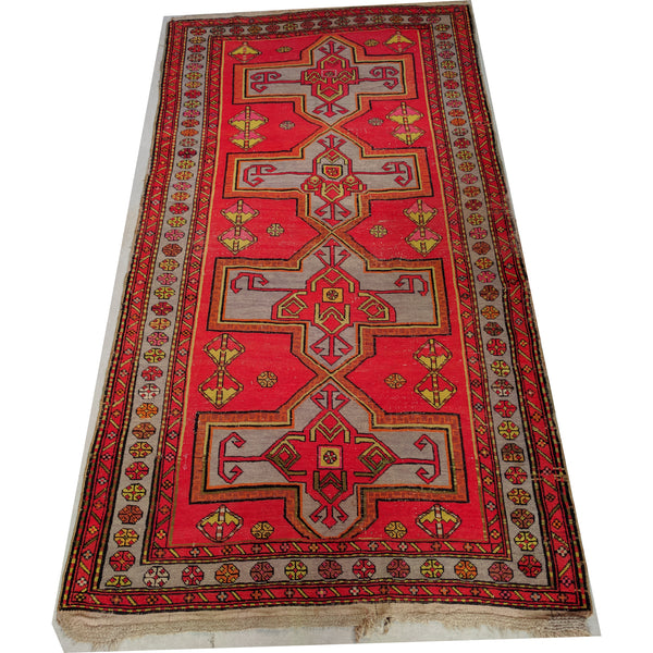 Vintage Persian Hand Knotted Woollen Pink Rug The Design Ark Antiques Kingsford Sydney