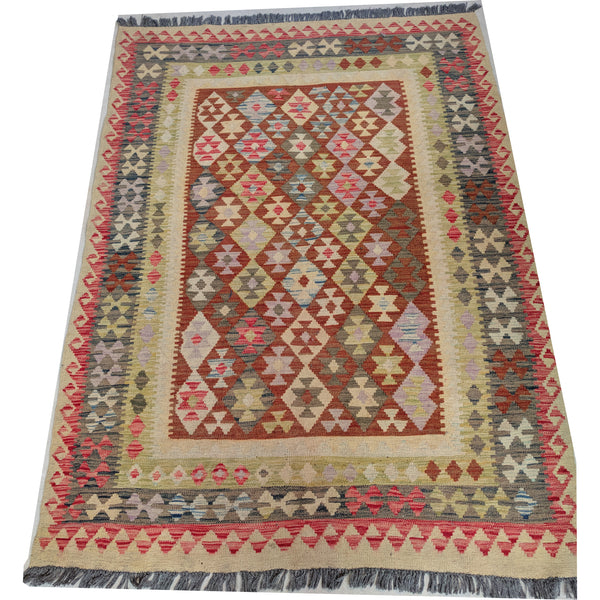Vibrant Vintage Cotton Kilim Rug The Design Ark Kingsford Sydney
