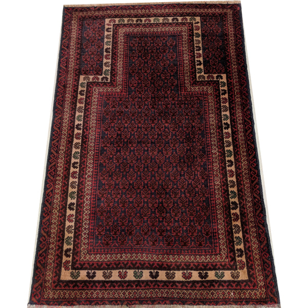 Vintage Woollen Prayer Rug Mat Carpet The Design Ark Antiques Kingsford Sydney