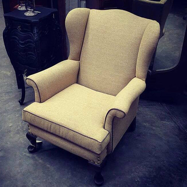 Parker Knoll wingback armchair