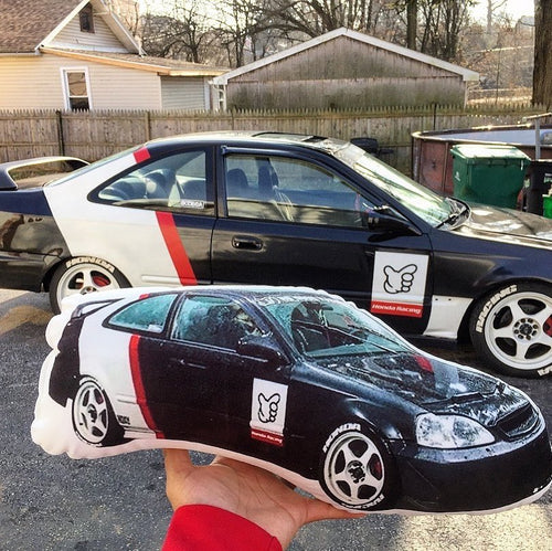 Custom Car Shaped Pillow