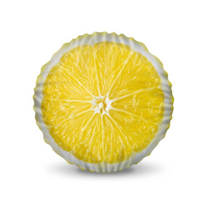 Lemon Half Pillow