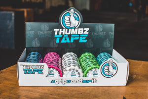 The Tape - Pack of 30 - Thumbz Tape, The Tape - The Box - Hook grip, crossfit, thumb tape, hookgrip tape, weightlifting tape