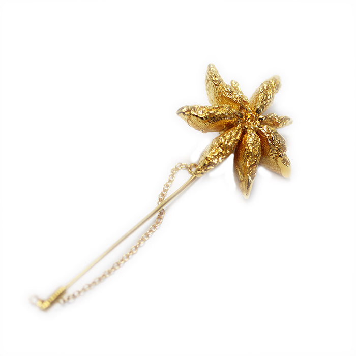 Anise in the Rough Brooch