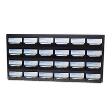 Load image into Gallery viewer, 24 Pocket Wall Mount Business Card Holder, Landscape