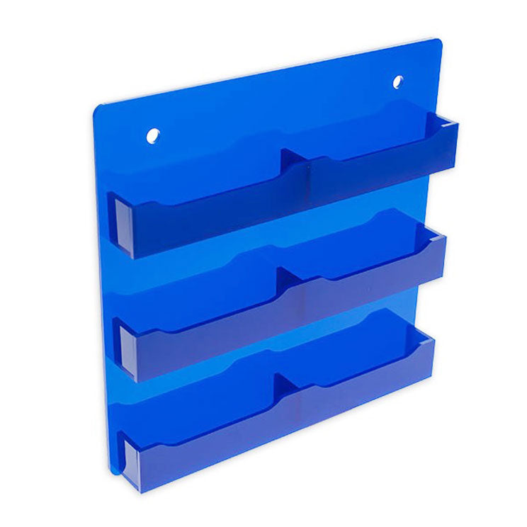 6 Pocket Wall Mount Business Card Holder