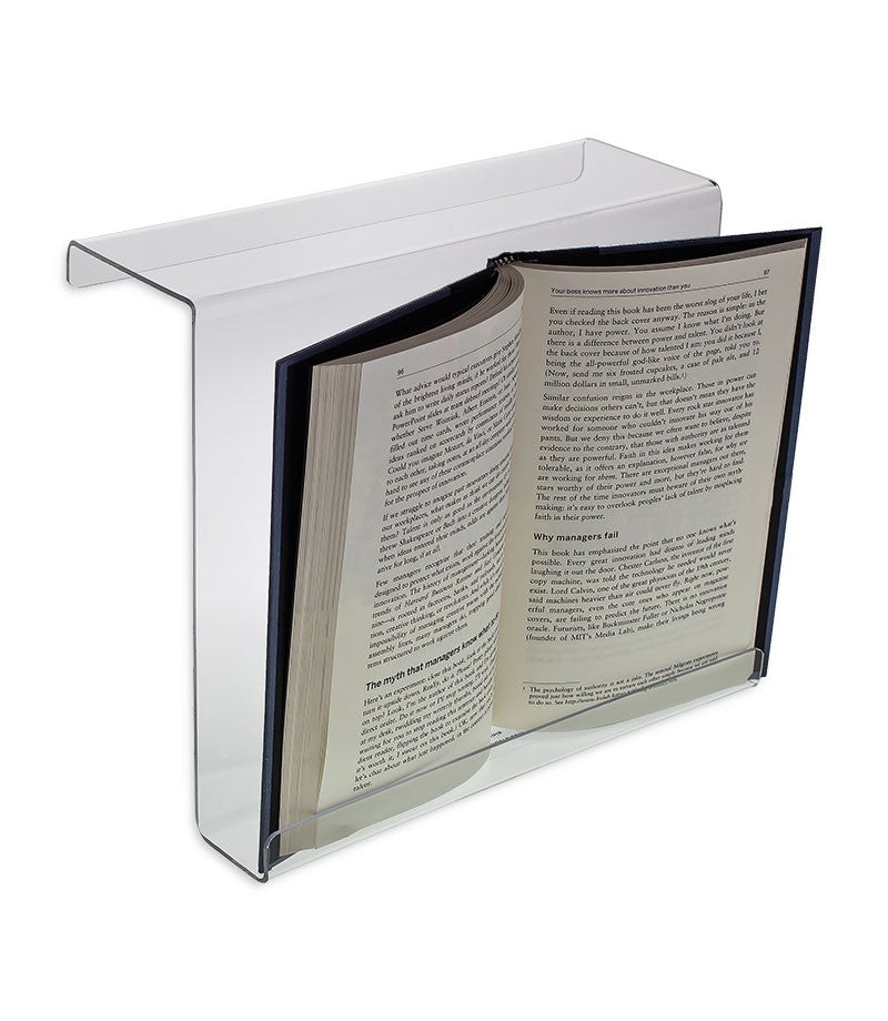 "9"" x 11"" Extra Deep Treadmill Book Holder with 3.5"" Hook"