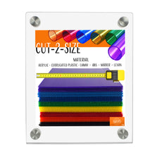 Load image into Gallery viewer, Ez-Load Standoff Clear Acrylic Sign Holders