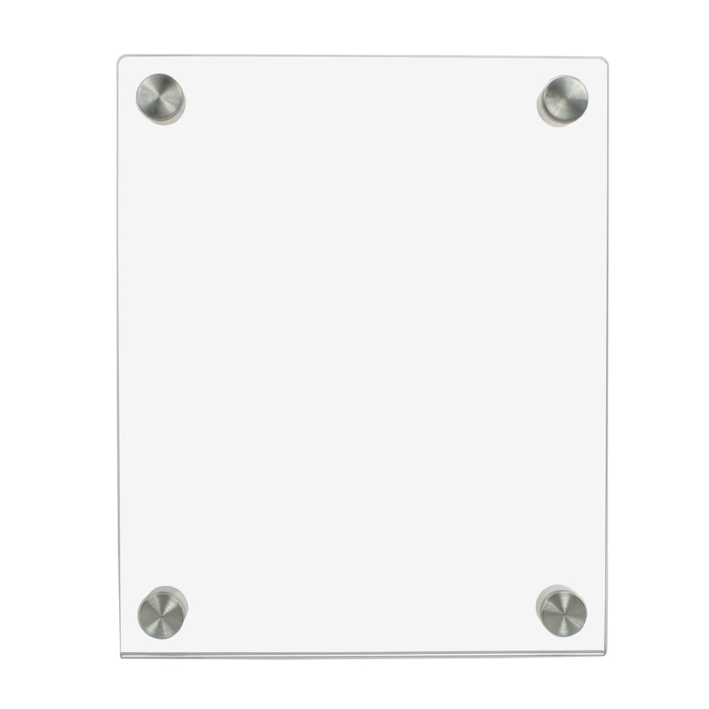 Ez-Load Standoff Clear Acrylic Sign Holders