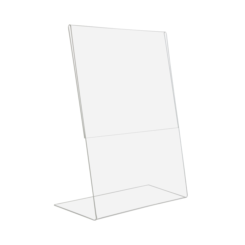 "8.5"" x 11"" Unbreakable PETG Slant Back Sign Holder"