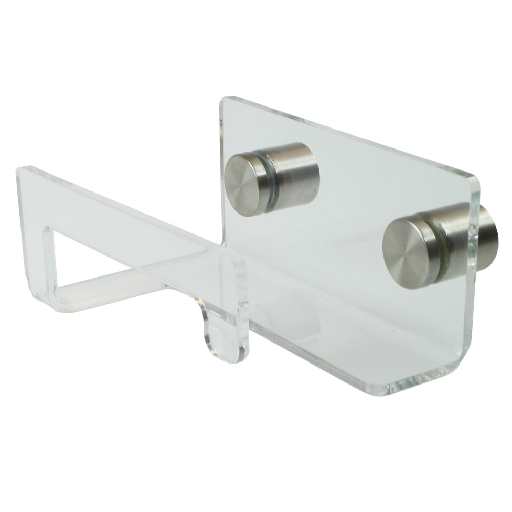 Elegant Heavy Duty Clear Acrylic Toilet Paper Holder