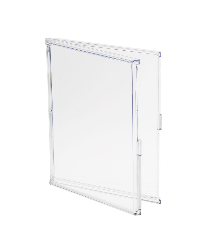 Clear Acrylic Protective Storage Case with Snap-Shut