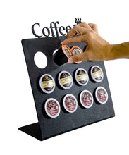 Load image into Gallery viewer, K Cup Coffee Pod Organizer Stand