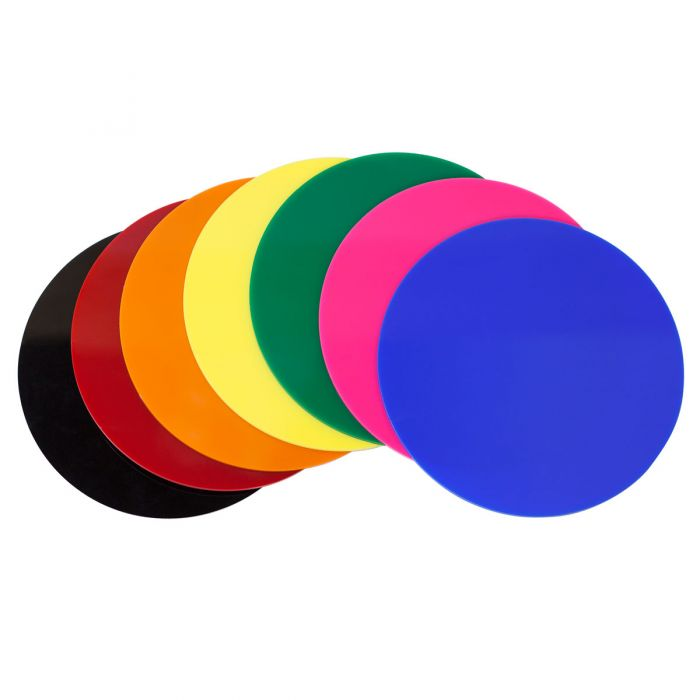 Colored Acrylic Disc