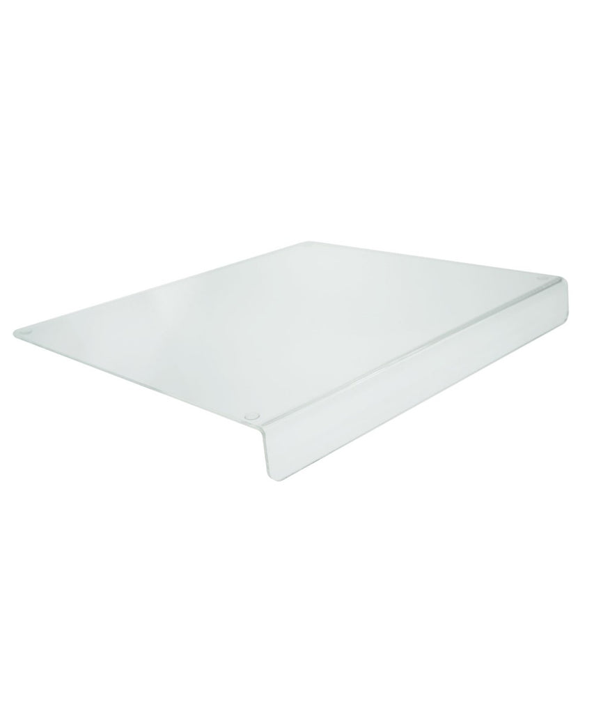 Acrylic Counter Top Cutting Board with Lip