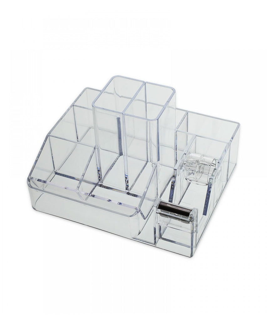 Premium Desktop Organizer with Tape Dispenser