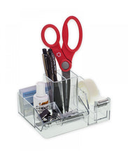 Load image into Gallery viewer, Premium Desktop Organizer with Tape Dispenser