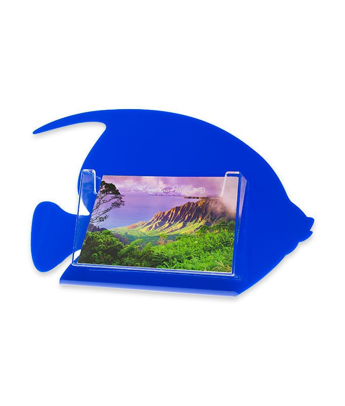 Countertop Fish Postcard Holder