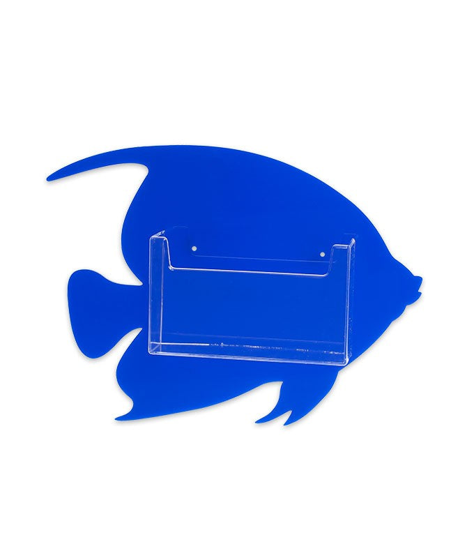 Wall Mount Fish Postcard Holder