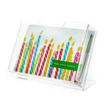 "Load image into Gallery viewer, Greeting Card Holder, 7"" x 5"""