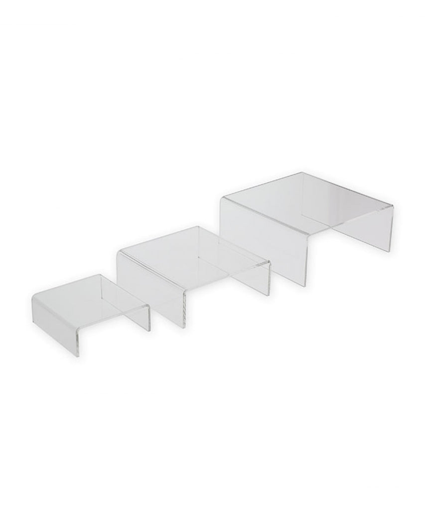 Low Profile Riser, Small 3 Piece Set