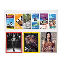Load image into Gallery viewer, Trifold and Large Brochure/Magazine Holder Combo