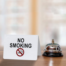 Load image into Gallery viewer, No Smoking Table Sign